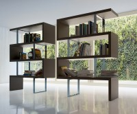 Contemporary Bookcase with Three Color Options Los Angeles ...