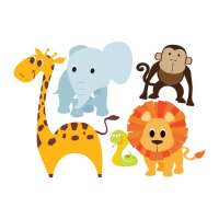 Nursery Animal Wall Decals ~ TheNurseries