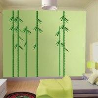 Bamboo Trees Mural Decal - Nursery Wall Decal Murals ...