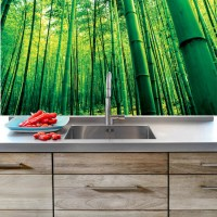 Bamboo Mural Decal - View Wall Decal Murals - Primedecals