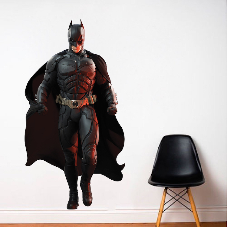 Batman Wall Decal  Superhero Wall Design  The Dark