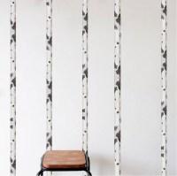 Birch Tree Wall Decal - Birch Tree Trunk Wallpaper Decal ...