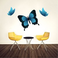 Butterfly Wall Decal - Animal Wall Decal Murals - Primedecals