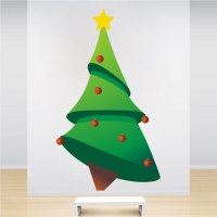 Christmas Tree Wall Decal - Christmas Murals - Primedecals