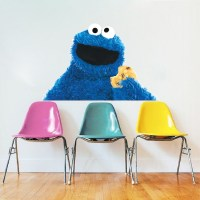 Cookie Monster Wall Decal Mural - Cookie Monster Sesame ...