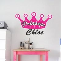 Princess Wall Decal - Girls Wall Decal Murals - Primedecals
