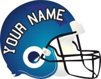 Football Helmet Mural Decal - Sports Wall Decal Murals ...