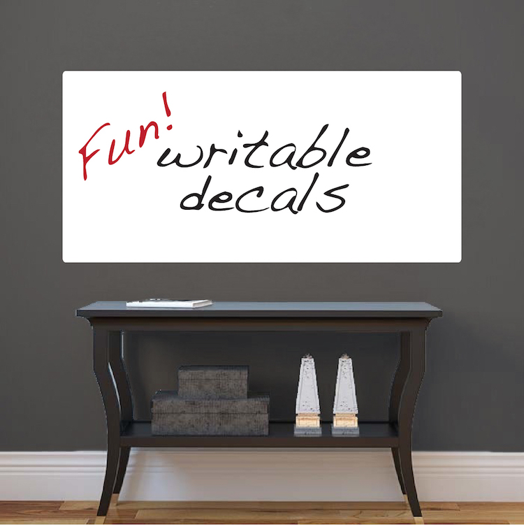 Dry Erase Mural Wall Decal