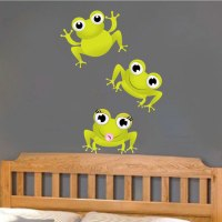 Frog Wall Decals - Nursery Wall Decal Murals - Primedecals