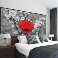 Rose Wall Mural Decal - Beautiful Wall Decal Murals ...