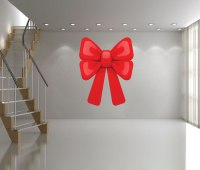 Large Bow Wall Decal - Christmas Murals - Primedecals