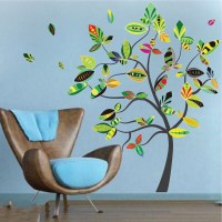 Abstract Tree Wall Decal - Tree Wall Decal Murals ...