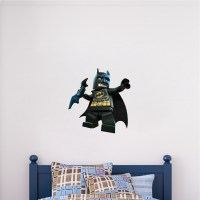 Lego Batman Wall Decal - Superhero Wall Design - The Dark ...
