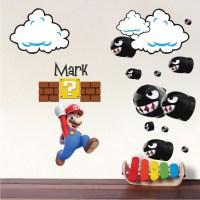 Mario Bullet Wall Decals _ Mario Nintendo Bullet Decals ...