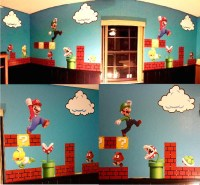 Super Mario Wall Stickers - [peenmedia.com]