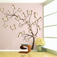 Butterfly Tree Wall Decal - Tree Wall Decal Murals ...