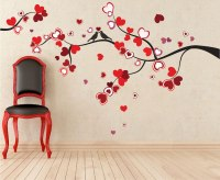 Heart Tree Wall Decal - Love Murals - Primedecals