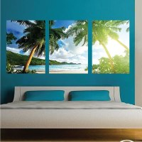 Palm Tree View Mural Decal - View Wall Decal Murals ...