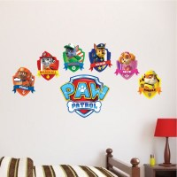 Paw Patrol Logo Wall Decal - Paw Patrol Kids Bedroom Wall ...
