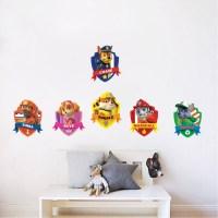 Paw Patrol Kids Wall Decal Decor - Paw Dog Birthday Party ...