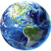 Earth Wall Mural Decal - Planet Wall Decal Murals ...