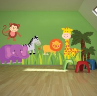 Nursery Zoo Wall Decal