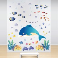 Under The Sea Wall Decals - Fish Bedroom Stickers ...