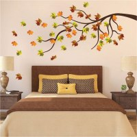 Autumn Tree Wall Decal Mural - Fall Tree Decals - Primedecals