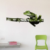 Frog Wall Decal Mural - Wall Decals - Primedecals