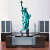 Statue of LIberty Wall Mural Decal - Large Wall Decal ...