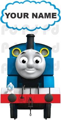 Thomas The Train Custom Wall Decal - Kids Train Wall Decal ...