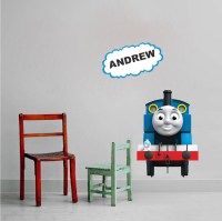 Thomas The Train Custom Wall Decal - Kids Train Wall Decal ...