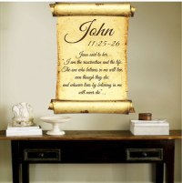Scripture Wall Decals - talentneeds.com