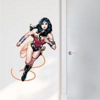 Wonder Woman Wall Mural - Wonder Woman Bedroom Decals ...