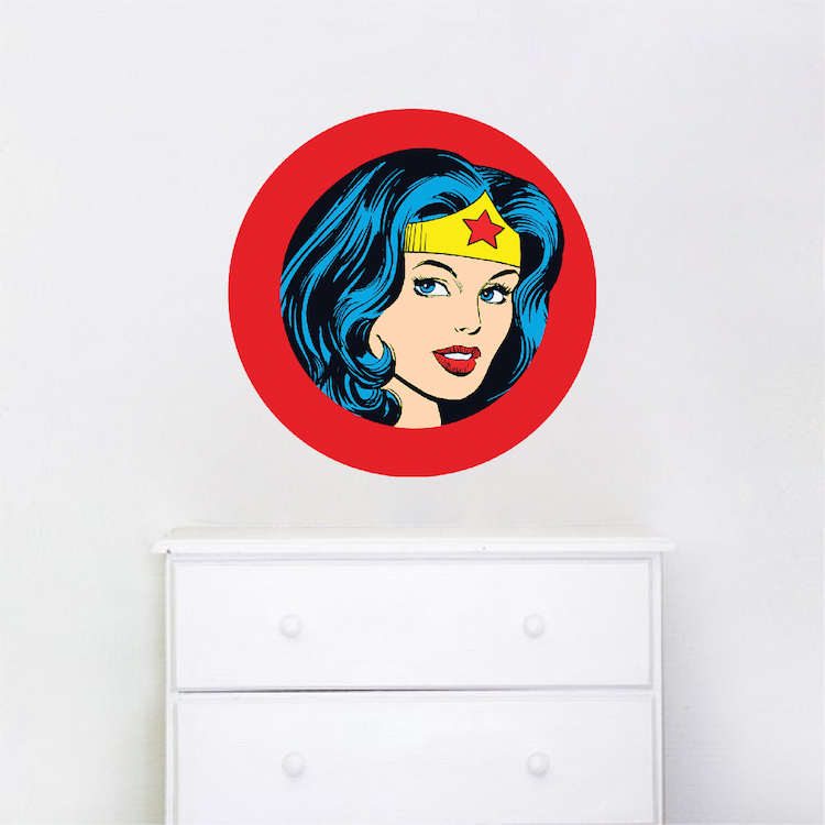 Wonder Woman Wall Decal