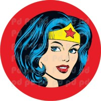 Wonder Woman Wall Decal - Wonder Woman Bedroom Decor ...