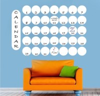 Dry Erase Calendar Wall Decal - Dry Erase Wall Decal ...