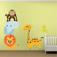 Animal Wall Stickers For Bedrooms - Bedroom design ideas