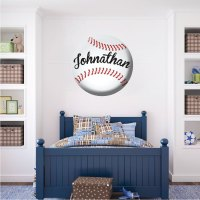 Baseball Decal - Sports Wall Decal Murals - Boys Room ...