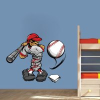 Baseball Decal - Sports Wall Decal Murals - Primedecals