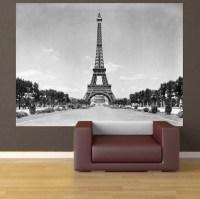 Eiffel Tower Wall Mural Decal - France Wall Decal Murals ...