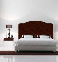 Mahogany Headboard Decal Mural - Bedroom Decals - Primedecals