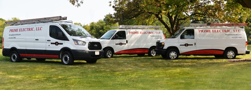 Service Trucks | Prime Electric
