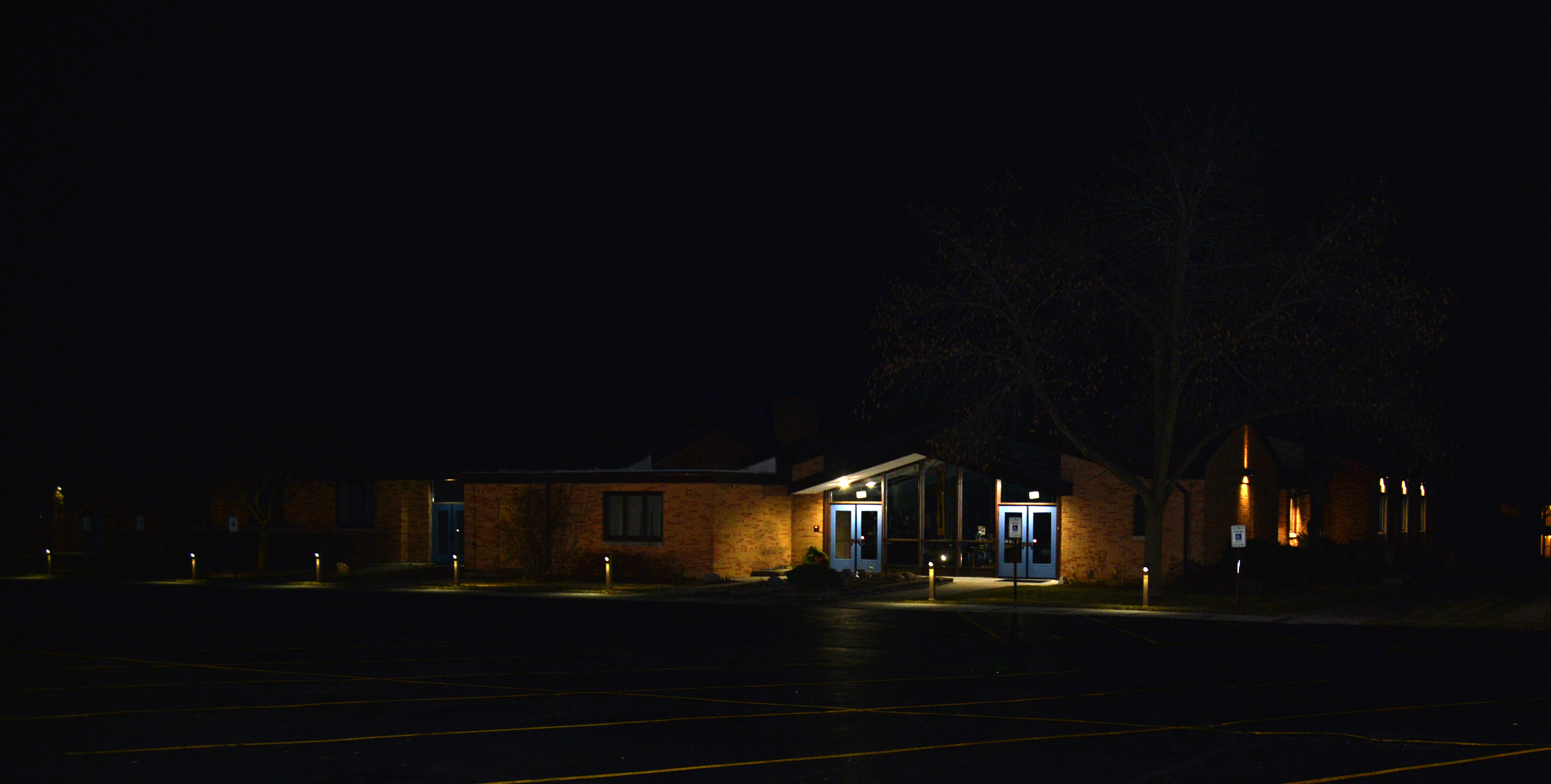 Outdoor Exterior Uplighting   Prime Electric Commercial Electrical Services