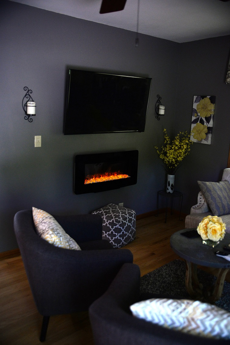 Prime Electric Residential Electrical Services Electric Fireplace Remodel