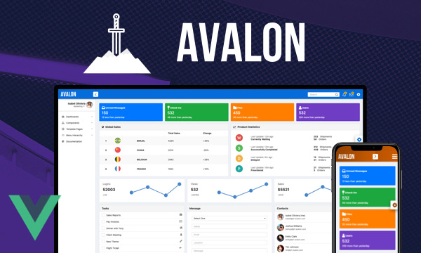 Avalon for PrimeVue