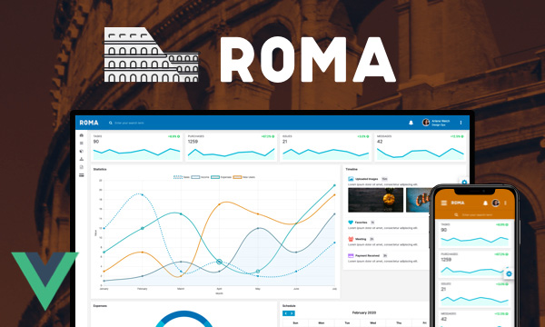 Roma for PrimeVue