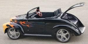 custom BLK 39 w/ flame