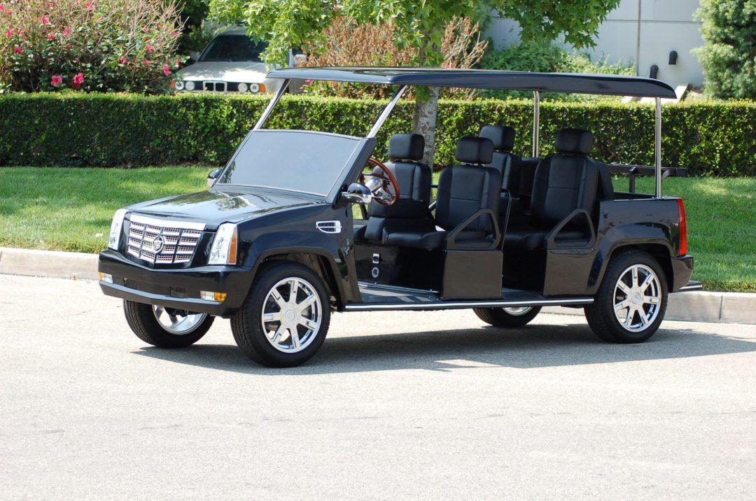 Cadillac Escalade Limo Golf Cart | Escalade Limo Golf Car