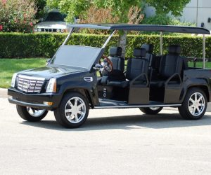 Black Escalade 6Passenger